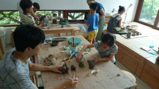 稲村の陶芸セミナーの様子2