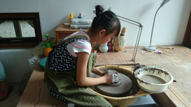 稲村の陶芸セミナーの様子3