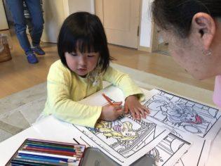 鎌倉アミ 民間学童で宿題