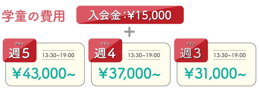 鎌倉の学童アミ 学童の費用